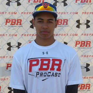 INF Dondae Bremner (Toronto, Ont.) of the Toronto Mets ...
