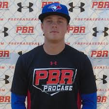 OF Cooper Davis (Mississauga, Ont.) of the Ontario Blue Jays was the fastest man ion the field