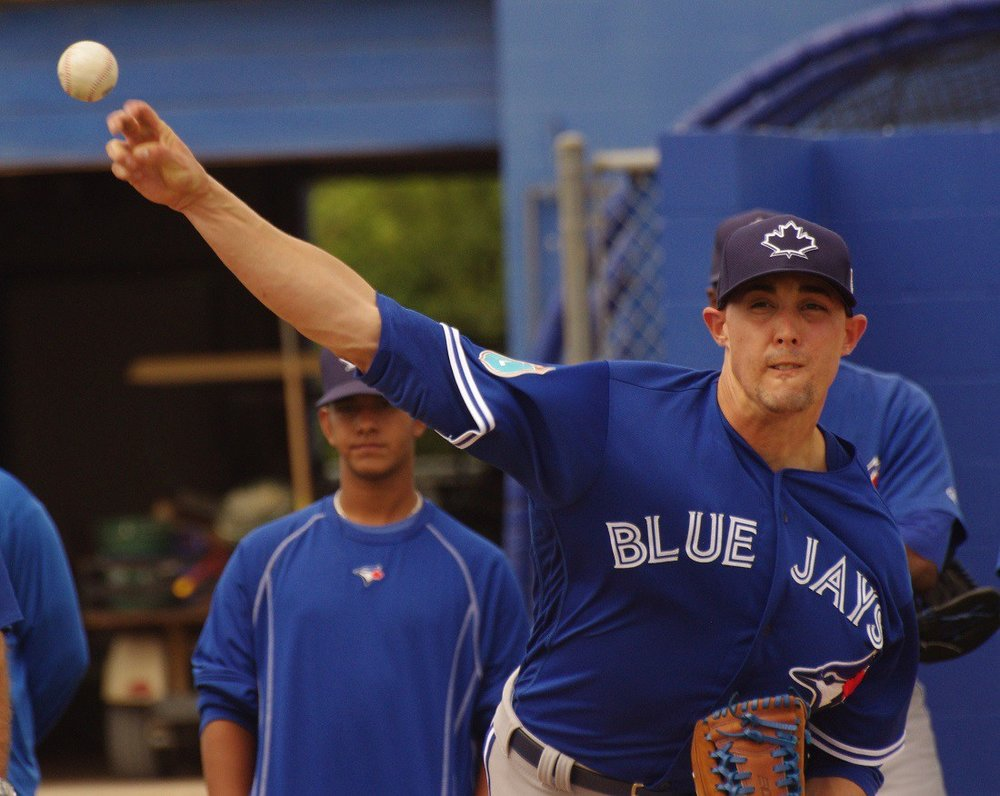 On Saturday, the Toronto Blue Jays placed right-hander Aaron Sanchez on the 10-day disabled list for the third time this season due to issues with the right middle finger on his throwing hand. Photo Credit: Jay Blue
