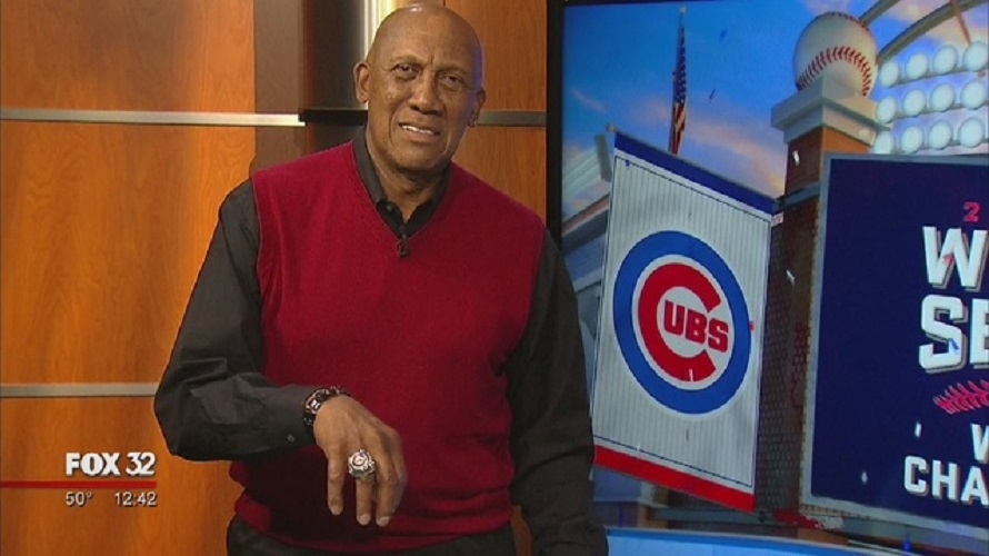 Hall of Famer Fergie Jenkins (Chatham, Ont.) showing the bling pitched for the Cubs, the Red Sox and the Rangers...