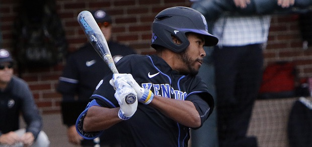 Toronto Mets grad Tristan Pompey (Toronto, Ont.) earned All-SEC First Team honours. Photo: Jeff Drummond.