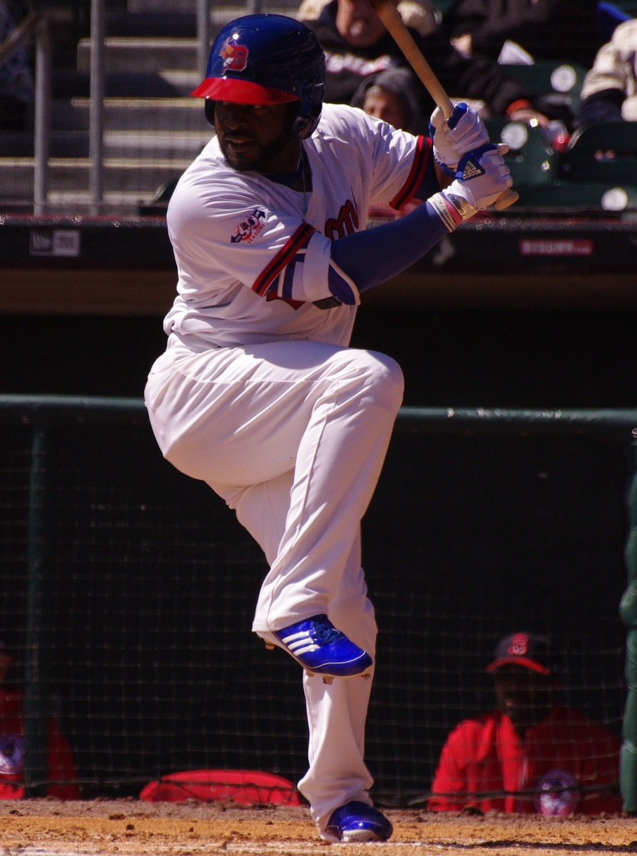 Outfielder Dwight Smith, Jr. went 3-for-4 with a home run and four RBI for the Buffalo Bisons in their 6-5 loss on Tuesday. Photo Credit: Jay Blue