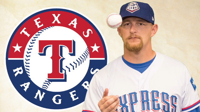 After 1,488 minor league innings with 21 different clubs - including a stint in Victoria, B.C., 32-year-old right-hander Austin Bibens-Dirkx made his major league debut with the Texas Rangers earlier this month. Courtesy: MiLB.com