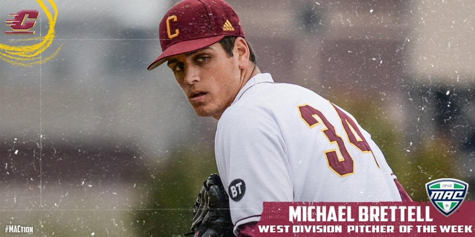 Former Great Lakes Canadians RHP Michael Brettell (Fonthill, Ont.)