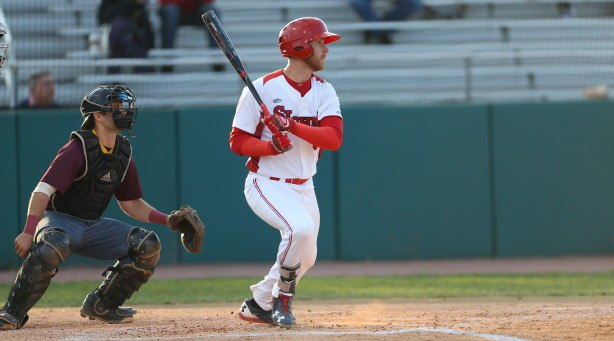 Former Aigles de Trois-Rivières Gui Gingras (Levis, Que.) of St. John's led in home runs and RBIs while tying for the most hits by a Canadian player south of the border.