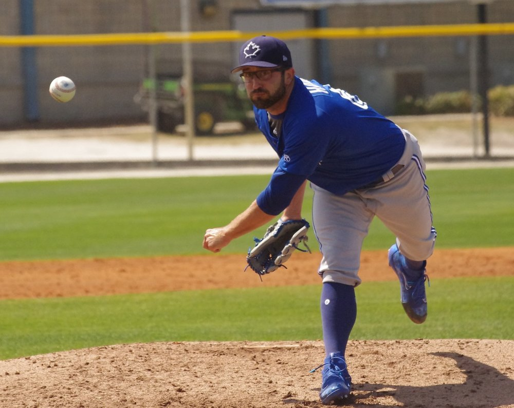 Left-hander T.J. House tossed six shutout innings on Saturday to lead the triple-A Buffalo Bisons to a 4-0 win over the Charlotte Knights. Photo Credit: Jay Blue