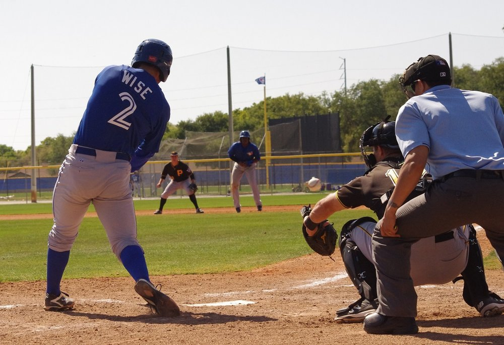 Carl Wise slammed two doubles and drove in a pair of runs in the class-A Advanced Dunedin Blue Jays' 6-5 loss to the Daytona Tortugas on Sunday. Photo Credit: Jay Blue