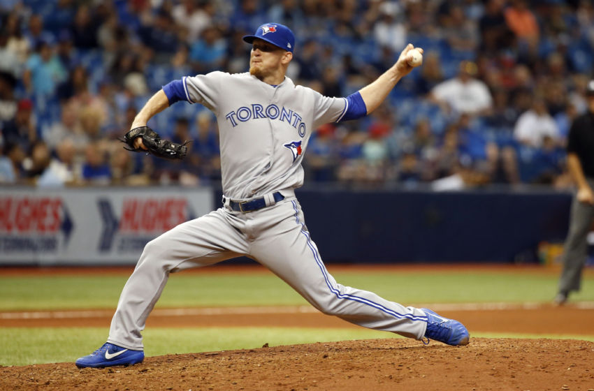The Toronto Blue Jays placed reliever J.P. Howell on the 10-day disabled list on Monday with left shoulder tightness. Photo Credit: Kim Klement, USA Today Sports