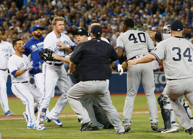 The AL East has always been tough, and 2017 is no different. (Photo: Stan Behal/Toronto Sun)