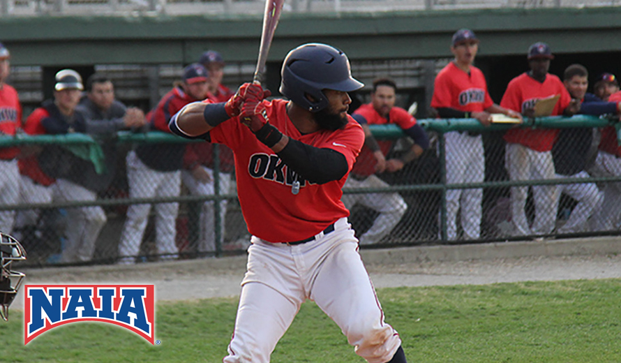 Former Guerriers de Granby OF Christopher Acosta-Tapia (Deaauville Laval, Que.) is the NAIA national player of the year