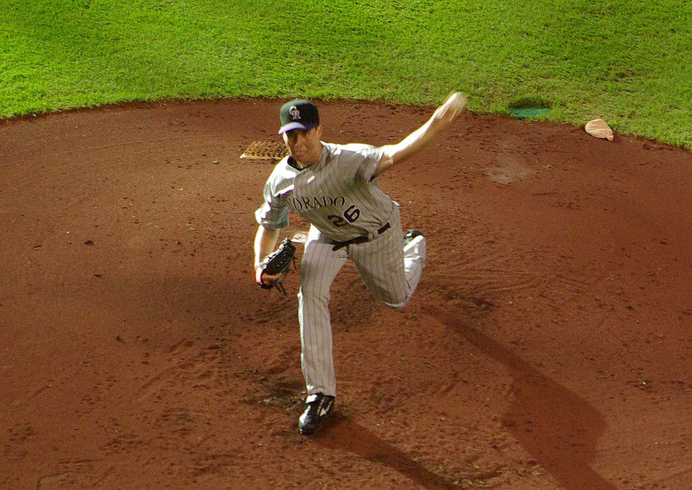 Delta, B.C., native Jeff Francis, who was taken ninth overall in the 2002 MLB Draft, pitched parts of 11 seasons in the big leagues. Photo Credit: Wikipedia
