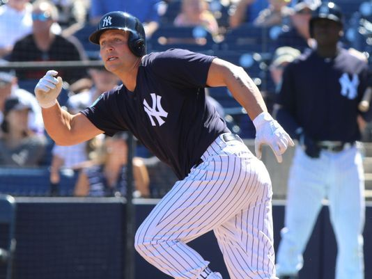 Yankee slugger Matt Holliday. Photo: Chris Pedota, The Record.