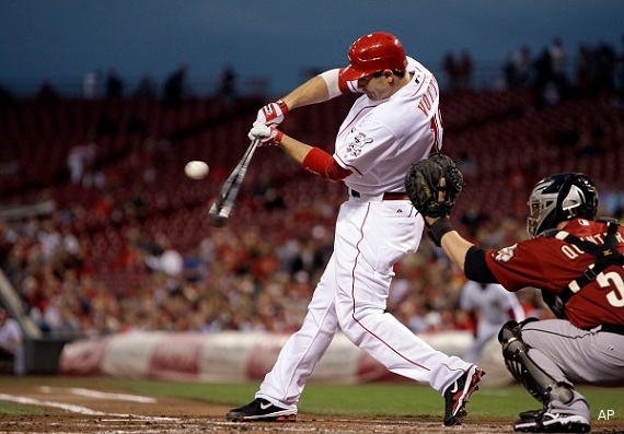 1B Joey Votto (Etobicoke, Ont.) was the class of the 2002 draft.