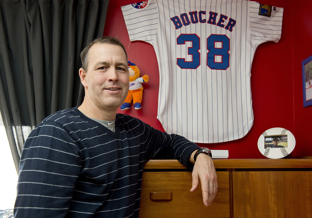 Denis Boucher of the New York Yankees