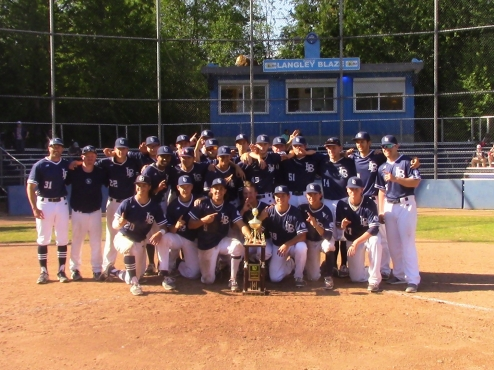 The Langley Blaze went 5-1 on their way to winning the Langley Blaze invitational.