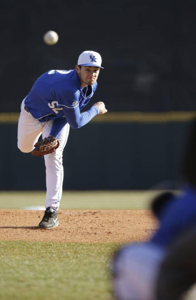 Former Ontario Blue Jays and Toronto Mets RHP Zach Pop (Brampton, Ont.) returned as Kentucky was elimination in its super regional