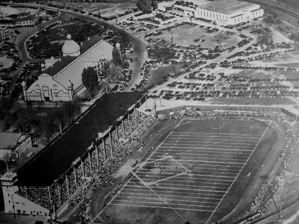 Lansdowne Park in Ottawa, Ont. circa 1950