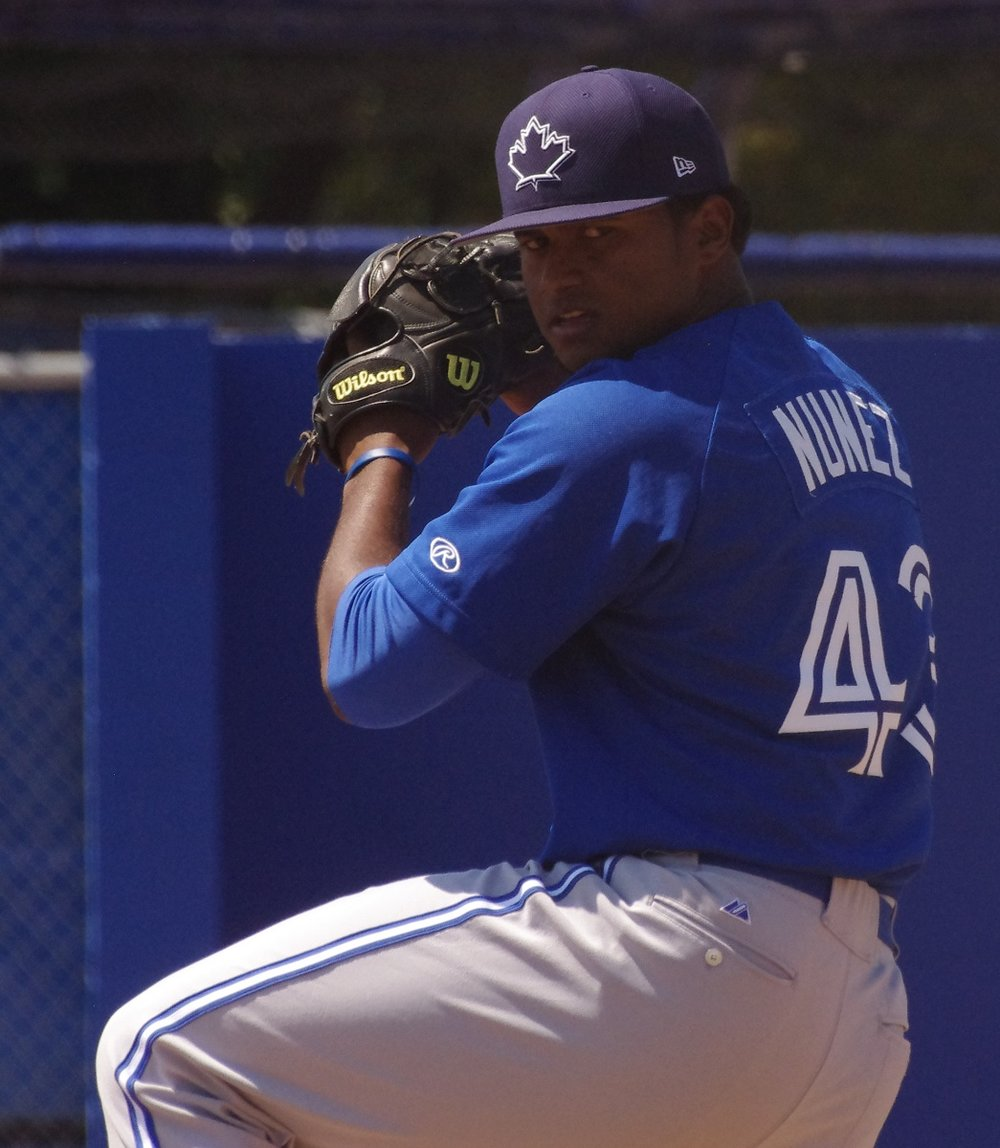 Right-hander Juan Nunez will be a member of the class-A Short Season Vancouver Canadians starting rotation to begin the season. Photo Credit: Jay Blue