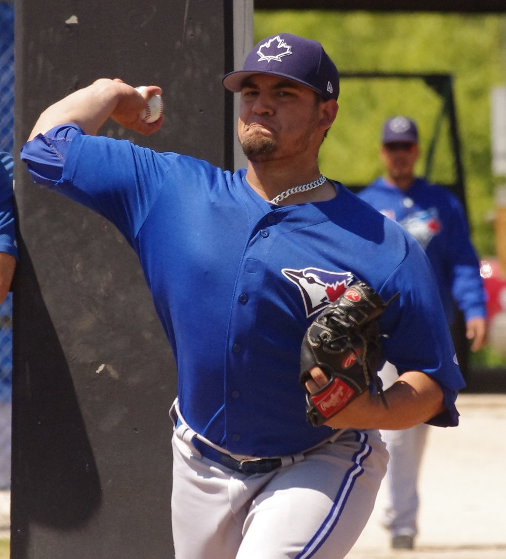 Right-hander Dalton Rodriguez pitched five shutout innings for the class-A Short-Season Vancouver Canadians on Friday. Photo Credit: Jay Blue