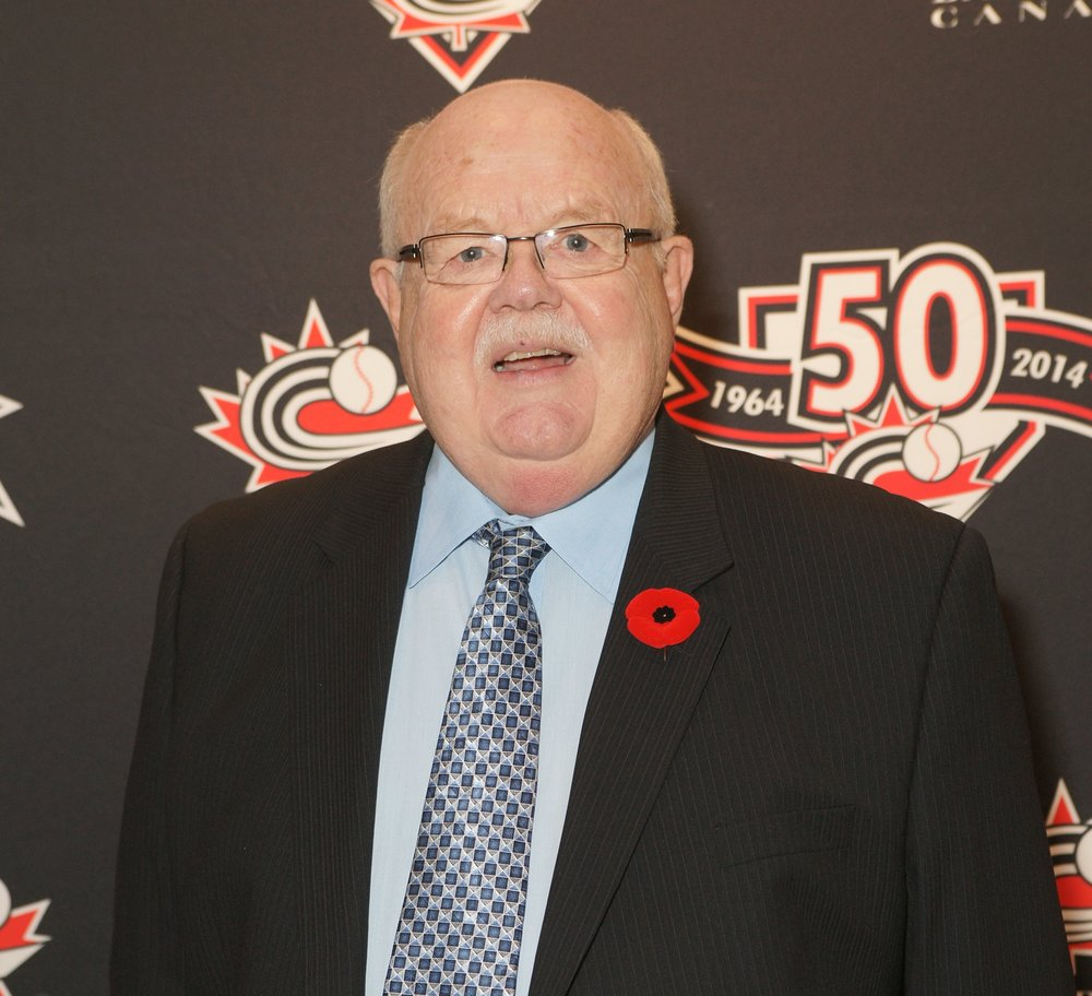Longtime Baseball Canada president Ray Carter was inducted into the Canadian Baseball Hall of Fame on Saturday. Photo Credit: Canadian Baseball Hall of Fame