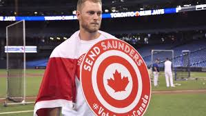 OF Michael Saunders (Victoria, BC) as Capt. Canada