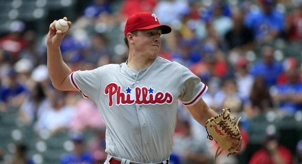 Victoria, B.C., native Nick Pivetta allowed just one run on one hit in seven innings in his start on Sunday to lead the Philadelphia Phillies to a 7-1 win over the New York Mets.