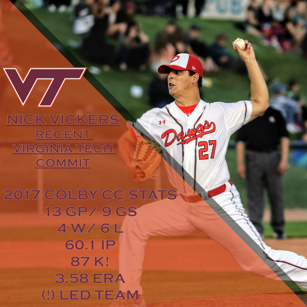 LHP Nick Vickers (Calgary, Alta.) is off to Virginia Tech Hokies. Photo: Amanda Fewe.
