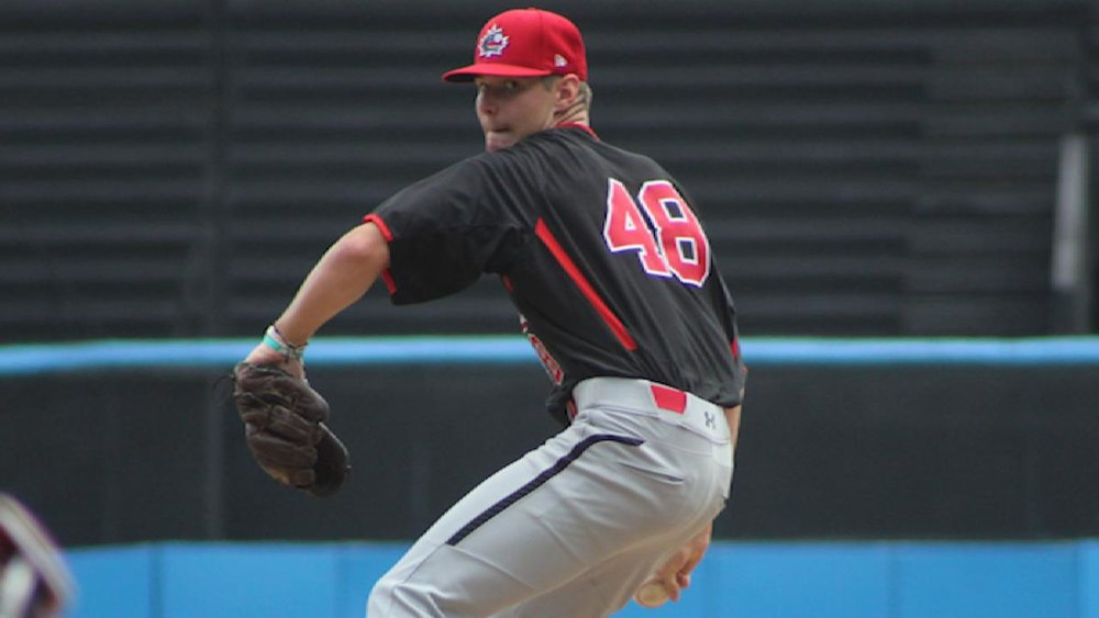 Former Toronto Mets RHP Landon Leach (Pickering, Ont.) heads a list of 14 Canucks who signed.