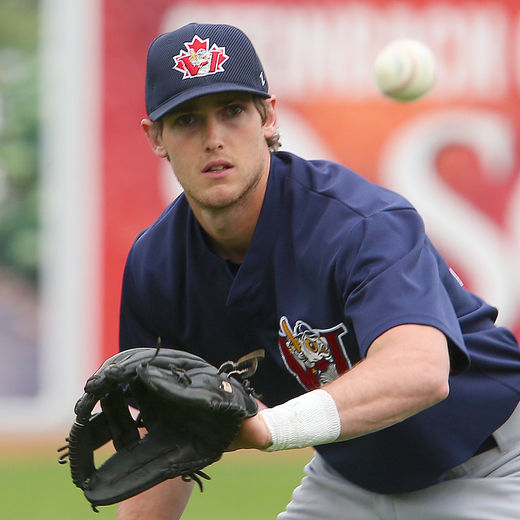 3B Wes Darvill (Langley, BC). Photo: Brian Donogh, Winnipeg Sun, Postmedia Network.
