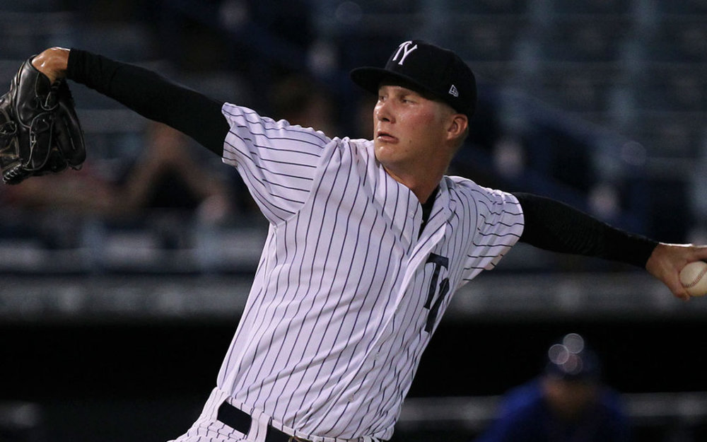 After eight years in the New York Yankees system LHP Evan Rutckyj (Windsor, Ont.) has found a new home in the Winnipeg Goldeyes bullpen.