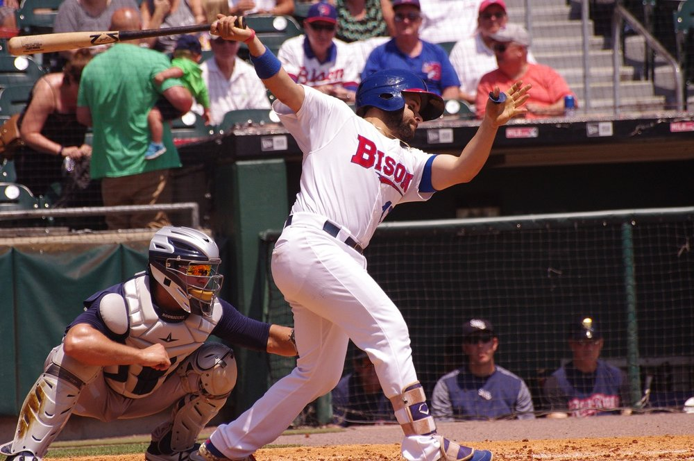 Raffy Lopez was 2-for-4 with a three-run home run to help lead the triple-A Buffalo Bisons to a 10-4 win on Tuesday. Photo Credit: Jay Blue