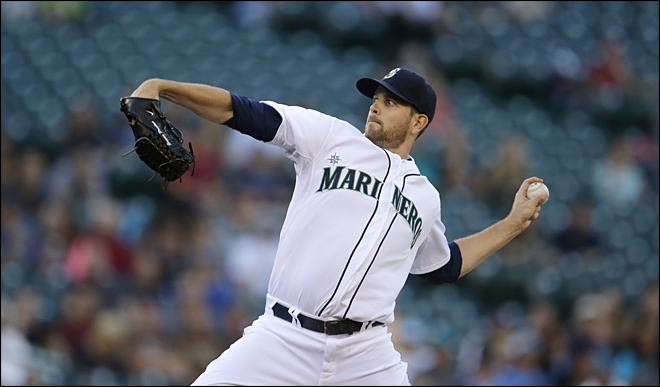 Left-hander James Paxton (Ladner, B.C.) is now 4-0 with a 2.05 ERA for the Seattle Mariners in July.