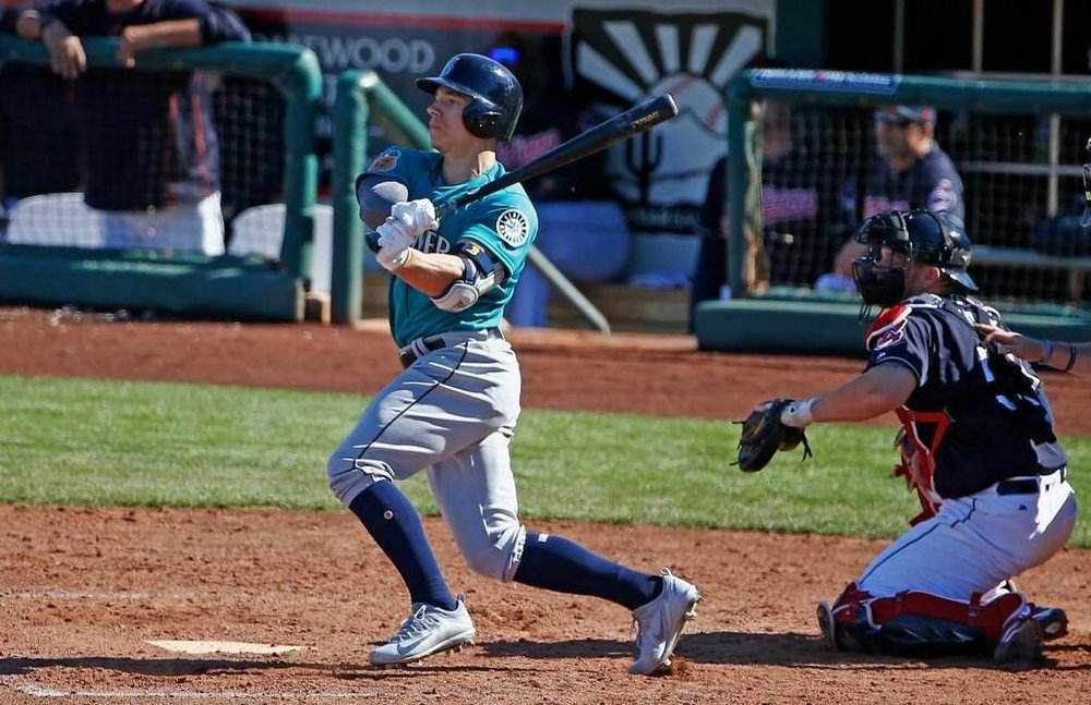 The Seattle Mariners dealt Maple Ridge, B.C., native Tyler O'Neill to the St. Louis Cardinals on Saturday. Photo Credit: Ross D. Franklin/AP