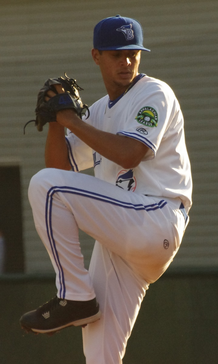 Right-hander Jose Espada tossed four shutout innings for the Vancouver Canadians on Tuesday. Photo Credit: Jay Blue