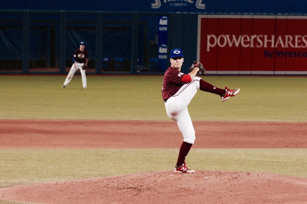 Vauxhall Academy Jets' LHP Jaden Griffin Lower (Sackville NS)