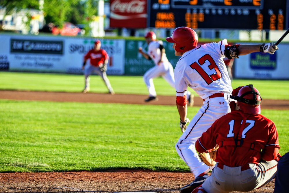 Ryan Humeniuk had four hits for the Okotoks Dawgs on Friday in the club's 9-8 loss to the Edmonton Prospects. Photo Credit: Amanda Fewer
