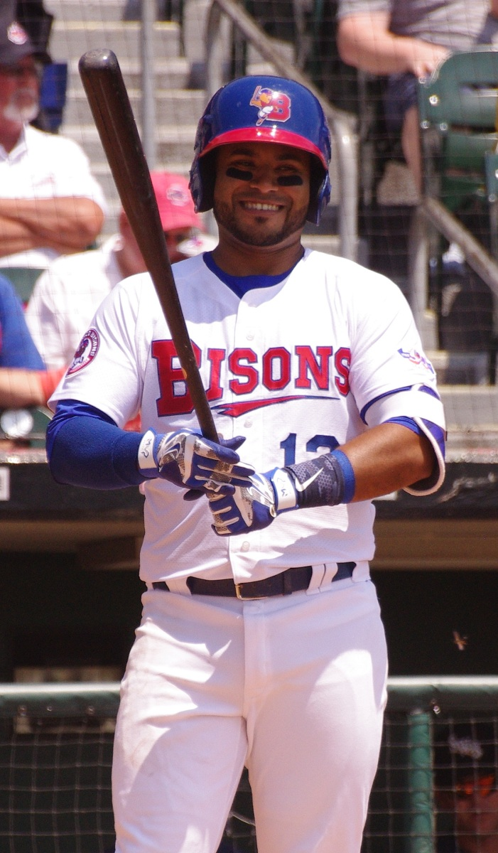 Gregorio Petit went 3-for-4 with a double and two RBI for the triple-A Buffalo Bisons on Tuesday. Photo Credit: Jay Blue