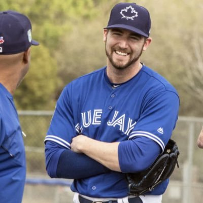 The Blue Jays recalled right-hander Chris Smith on Thursday. Photo Credit: Twitter