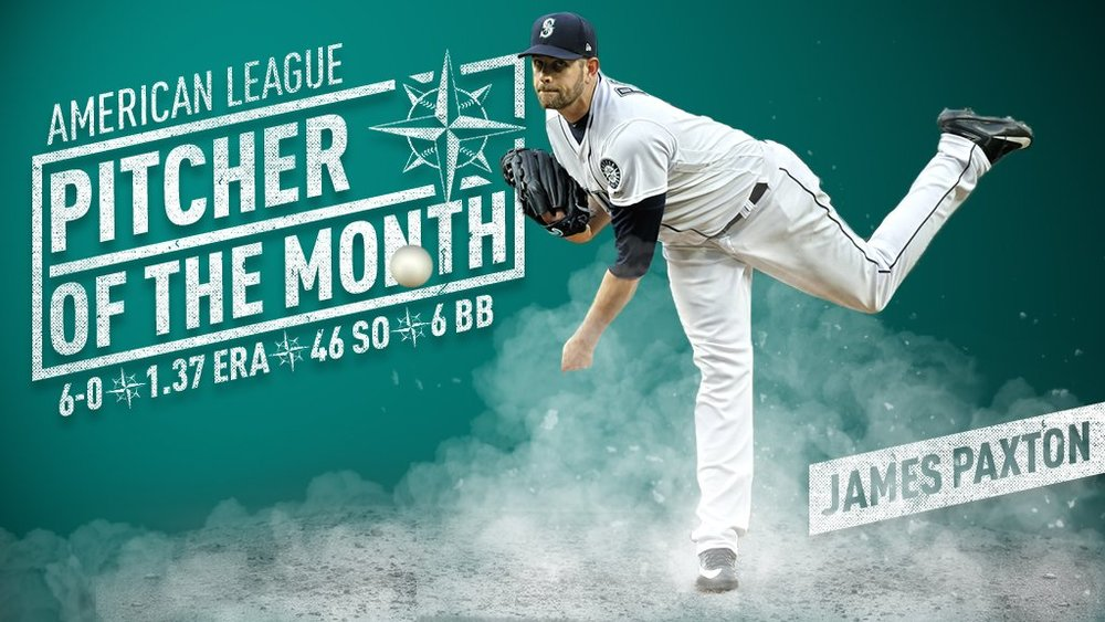 The Seattle Mariners have placed left-hander James Paxton (Ladner, B.C.) on the 10-day disabled with a strained left pectoral muscle. Photo Credit: Seattle Mariners Baseball Information Department