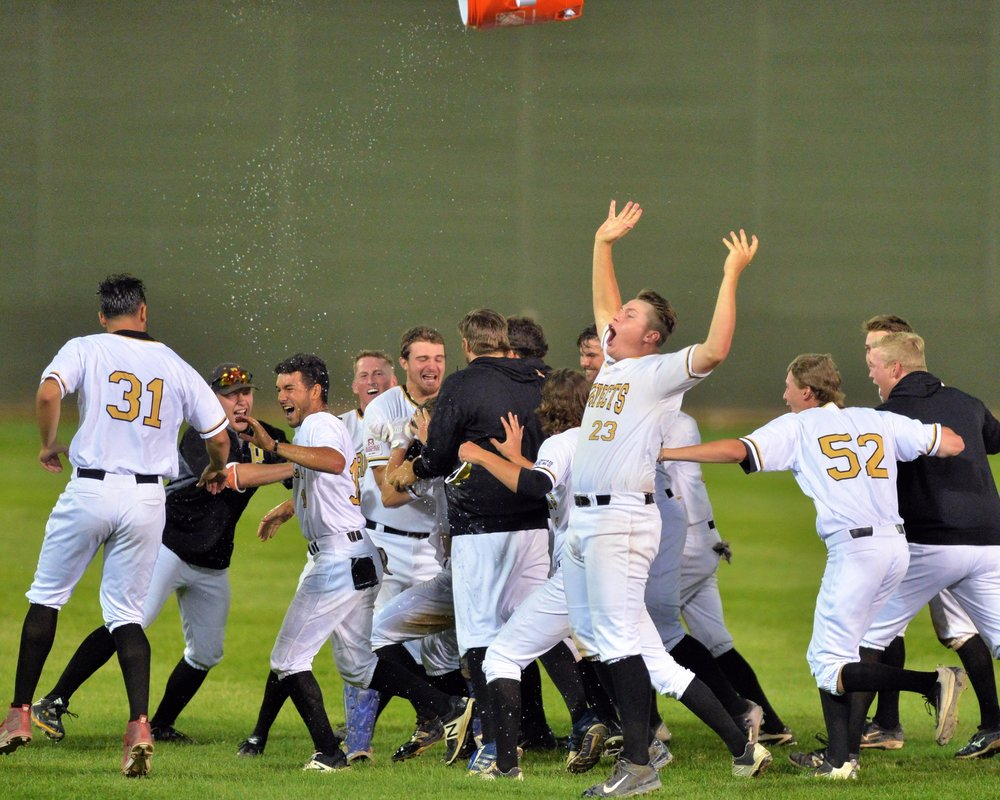 The Edmonton Prospects will battle the Swift Current 57's in the WMBL Championship Series that's set to begin on Sunday. Photo Credit: Edmonton Prospects (Twitter)