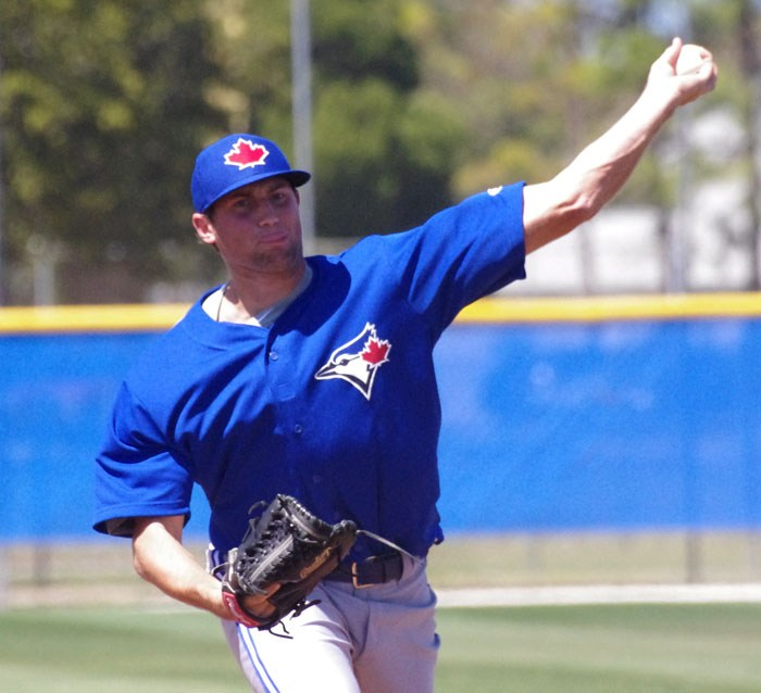 The Toronto Blue Jays recalled left-handed reliever Tim Mayza on Monday. Photo Credit: Jay Blue