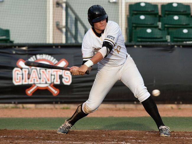 Erik Sabrowski went 3-for-4 with two RBI to help lead the Edmonton Prospects to a 6-5 win in Game 3 of the WMBL Championship Series on Tuesday.