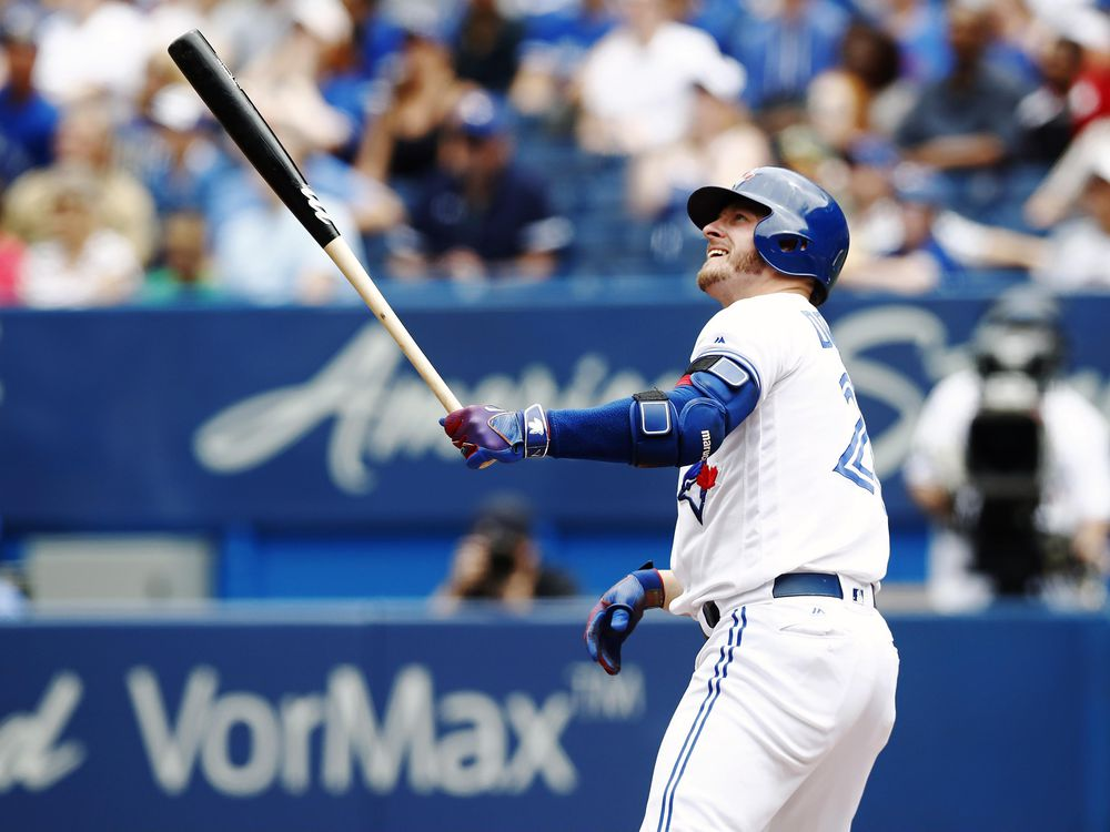 The month of August has brought upon the return of former AL MVP Josh Donaldson. (Photo: Mark Blinch / Canadian Press)
