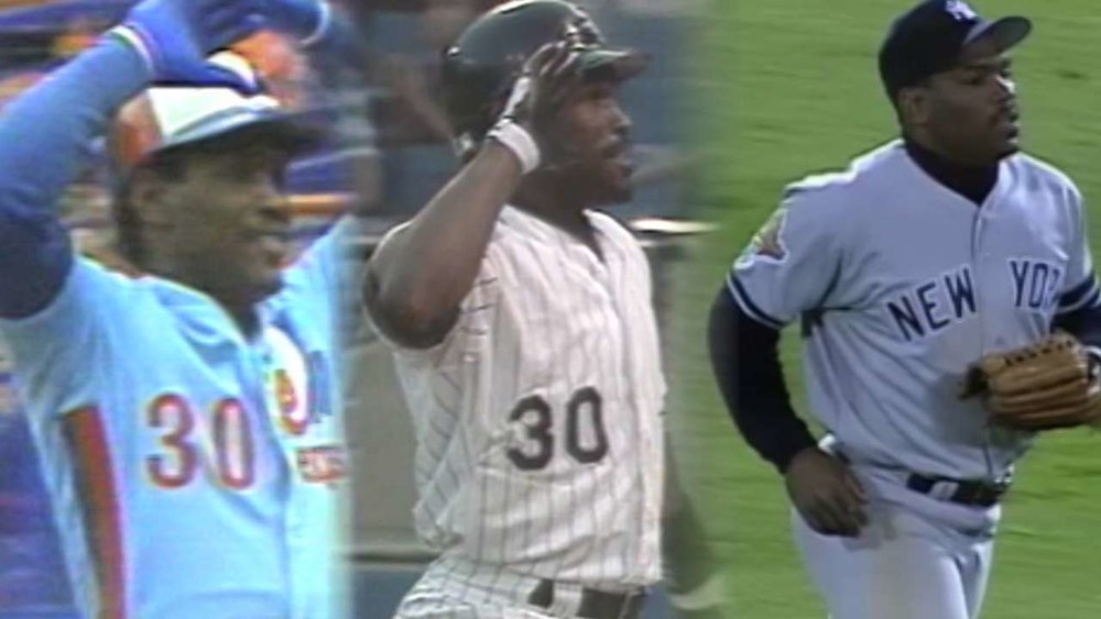 Tim Raines spent the bulk of his career with the Expos, the Chicago White Sox  and the New York Yankees.