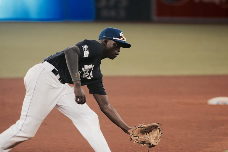 ONTARIO BLUE JAYS SS JADEN BROWN (MISSISSAUGA, ONT.)