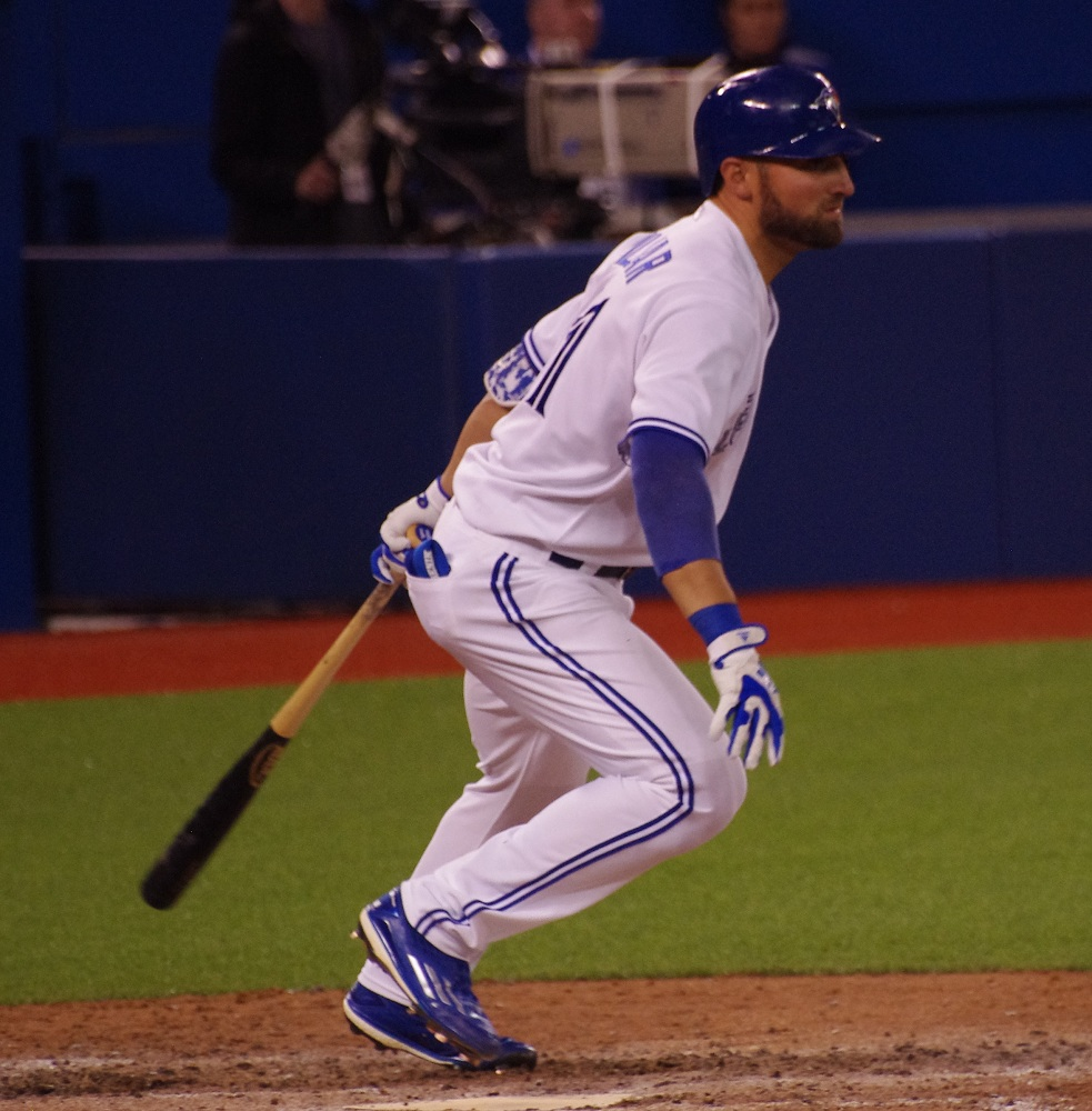 Toronto Blue Jays centre fielder Kevin Pillar has made adjustments this season in order to preserve his body and continue to provide Gold Glove calibre defence. Photo Credit: Jay Blue