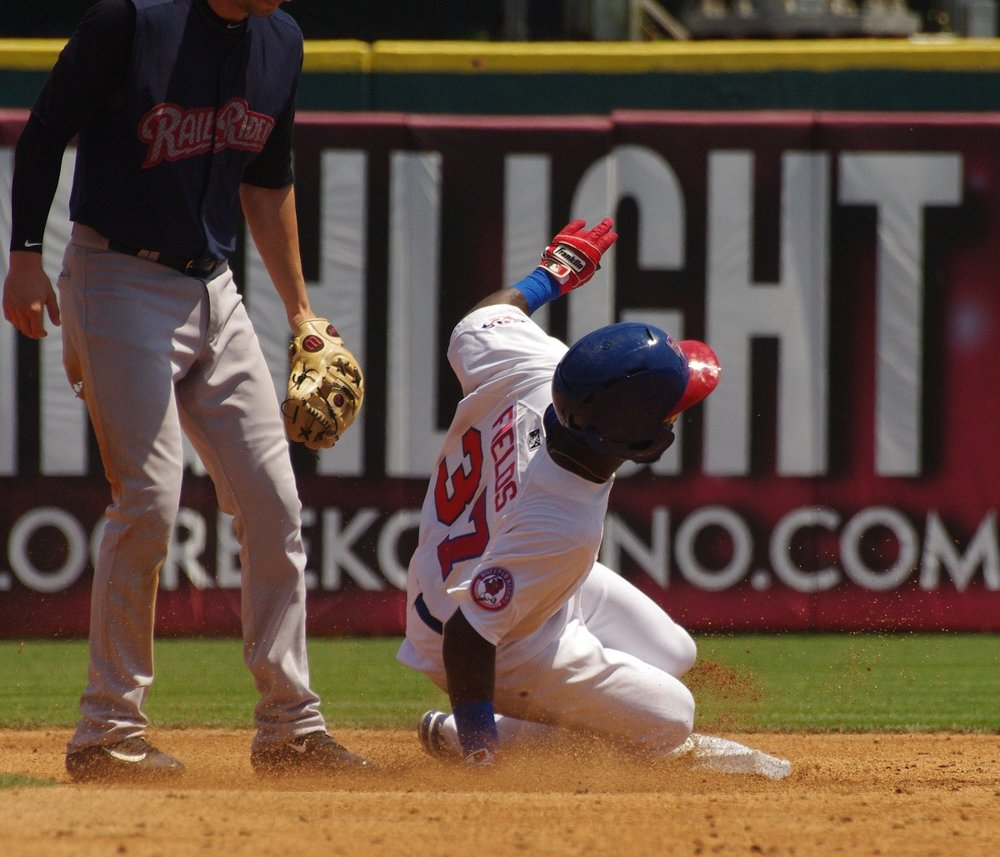 Roemon Fields went 3-for-4 and stole his team-record 43rd base for the triple-A Buffalo Bisons on Monday. Photo Credit: Jay Blue