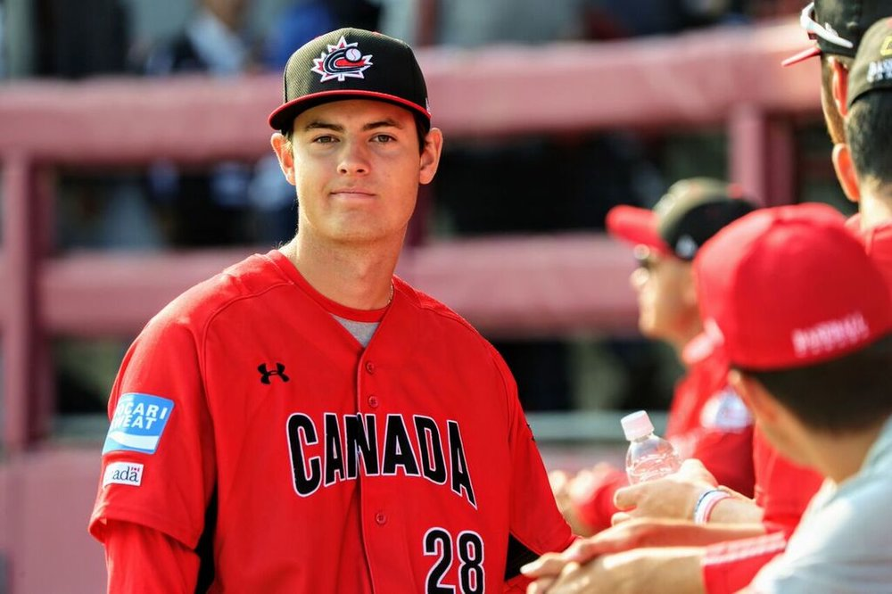 LHP Jack DeCooman (North Vancouver, BC) of the North Shore Twins