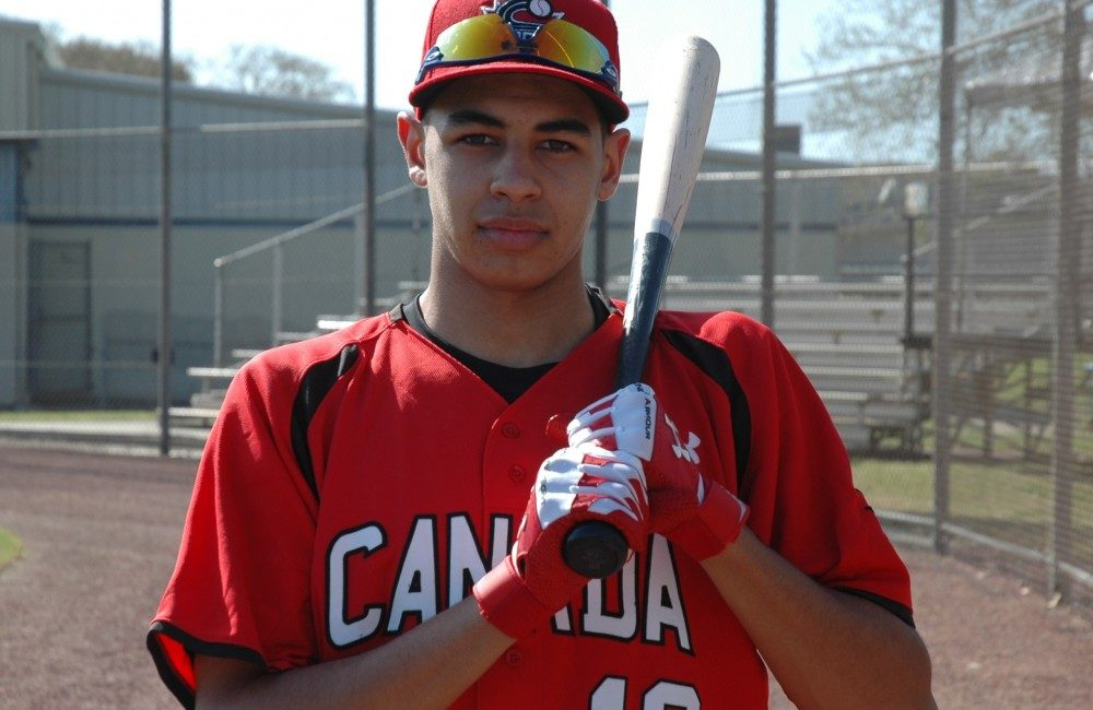 The U18 World Cup in Thunder Bay, Ont., will be the last tournament that Toronto Mets grad Dondrae Bremner (Scarborough, Ont). plays for Canada's Junior National Team. Photo Credit: Alex Athur