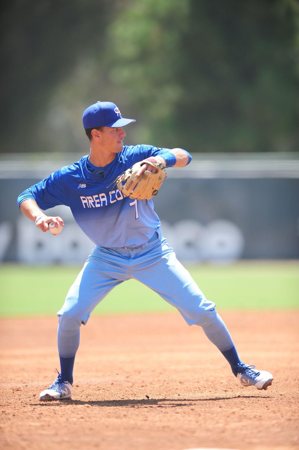 Palmegiani at the Area Code Games this past August.